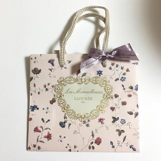 レメルヴェイユーズラデュレ(Les Merveilleuses LADUREE)の《100円》ラデュレ♡ショップ袋(ショップ袋)