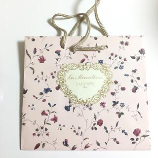 レメルヴェイユーズラデュレ(Les Merveilleuses LADUREE)のラデュレ♡ショップ袋(ショップ袋)
