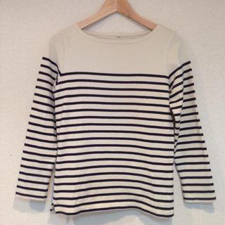 ムジルシリョウヒン(MUJI (無印良品))の無印 ボーダーT(Tシャツ(長袖/七分))