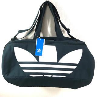アディダス(adidas)の新品 ♪ アディダス オリジナルス ビッグトレフォイル ボストンバック 中型 紺(ボストンバッグ)