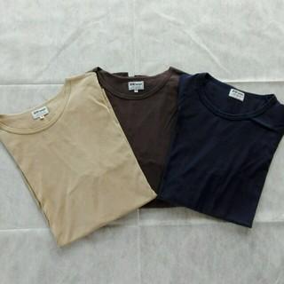 サンスペル(SUNSPEL)のSUNSPEL(サンスペル) 長袖ロングTシャツ3枚セット(Tシャツ/カットソー(七分/長袖))