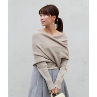 アメリヴィンテージ(Ameri VINTAGE)の値下げameri vintage★ offshoulder cover knit(ニット/セーター)
