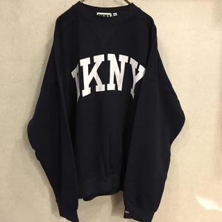 ダナキャランニューヨーク(DKNY)の新品未使用!90s DKNY【ダナキャラン】カレッジスウェット! ビンテージ!(スウェット)