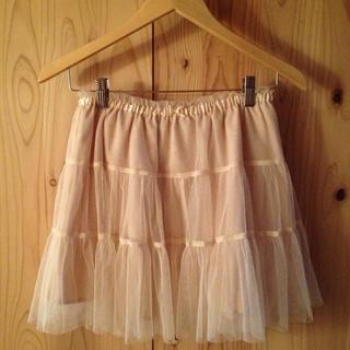 ローリーズファーム(LOWRYS FARM)のチュールスカート♡(ミニスカート)