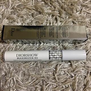 ディオール(Dior)のDior❄️ディオールショウ マキシマイザー 3D 未使用(マスカラ下地 / トップコート)