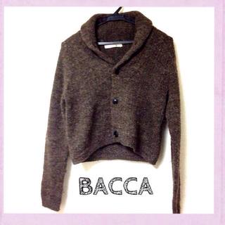 エディション(Edition)のBACCA  ウールジャケット(ニット/セーター)