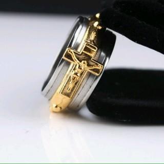 【gorgeous】キリストデザインのおしゃれなリング★mw(リング(指輪))