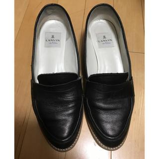ランバンオンブルー(LANVIN en Bleu)のランバン ローファー 専用(ローファー/革靴)