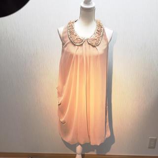 パウダーシュガー(POWDER SUGAR)の【新品】半額以下!定価15750円 薔薇モチーフ付きドレス(その他ドレス)