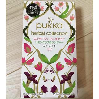 ノンカフェイン♡ハーブティー pukka 10袋(茶)