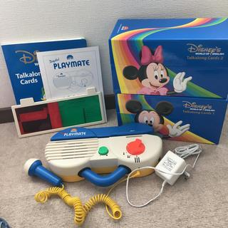 ディズニー(Disney)のDWE トークアロングセット(知育玩具)