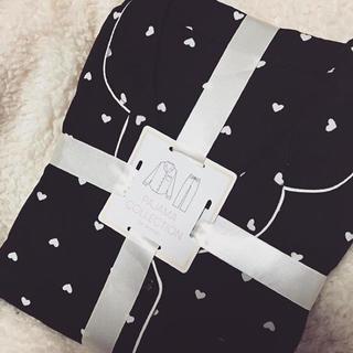 ジーユー(GU)の完売 GUハートパジャマ ブラック(パジャマ)