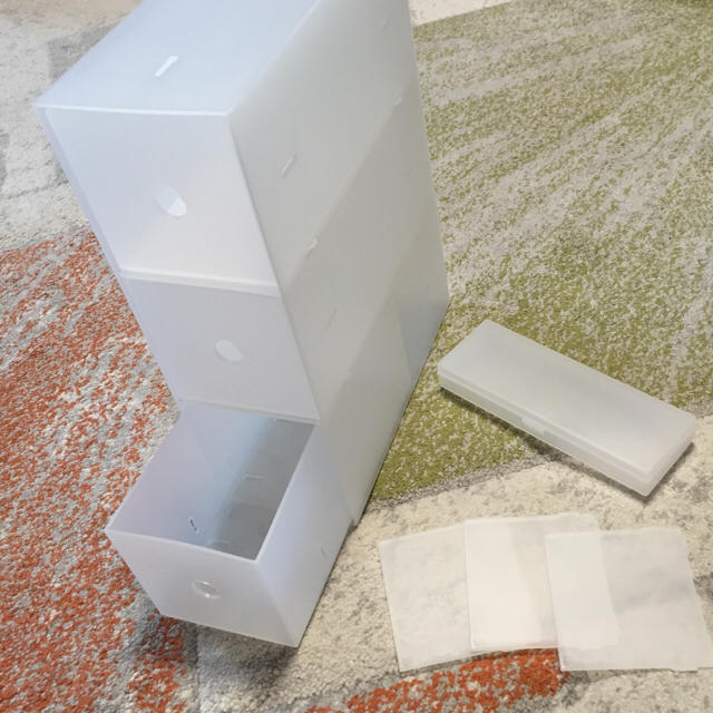MUJI (無印良品)(ムジルシリョウヒン)の無印良品 ポリプロピレン ケース ボックス 小物ケース インテリア/住まい/日用品の収納家具(ケース/ボックス)の商品写真