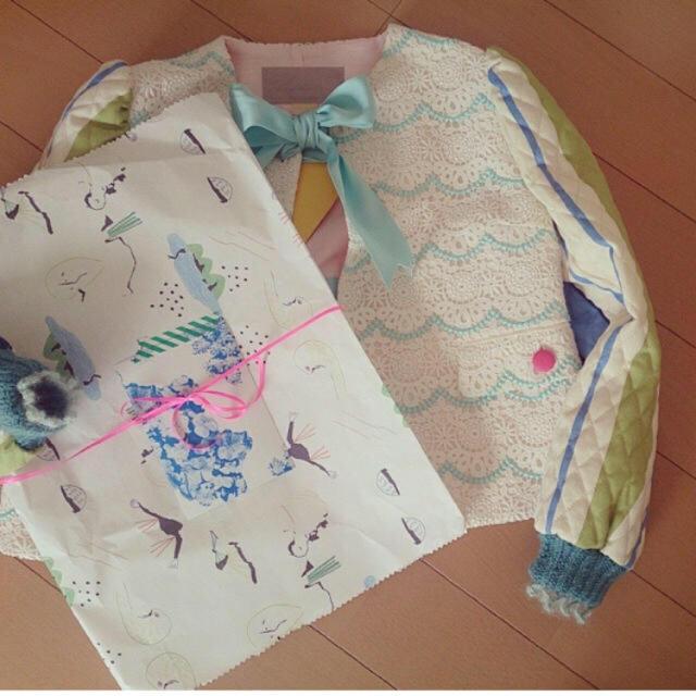 H.P.FRANCE(アッシュペーフランス)のpetit costume コート キッズ/ベビー/マタニティのキッズ服 女の子用(90cm~)(コート)の商品写真