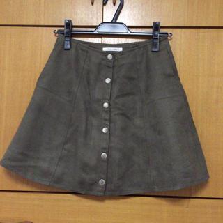レディアゼル(REDYAZEL)のカーキ スカート(ミニスカート)