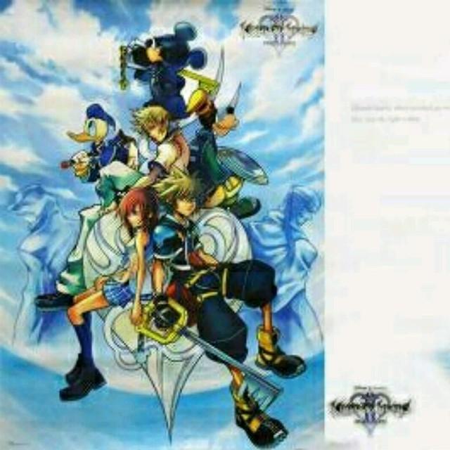 SQUARE ENIX - キングダムハーツ2 B2サイズポスター 2枚組 の通販 by ...