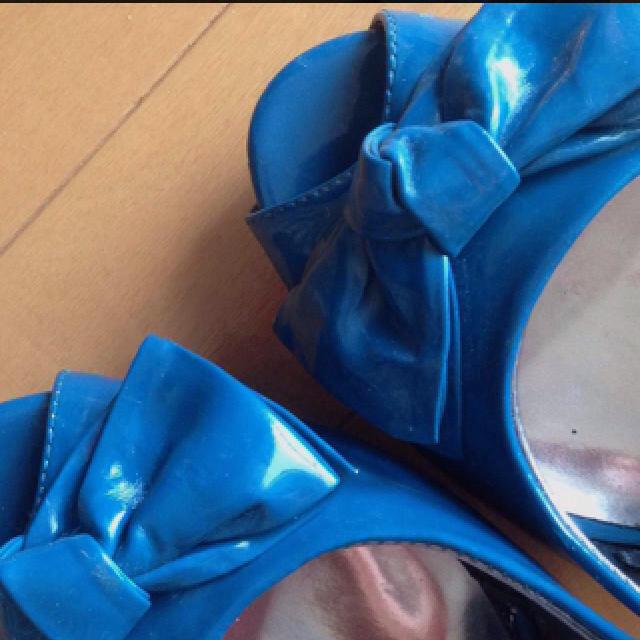 FOREVER 21(フォーエバートゥエンティーワン)のF21♡リボンパンプス送料込み♡ レディースの靴/シューズ(ハイヒール/パンプス)の商品写真