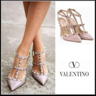 ヴァレンティノ(VALENTINO)の〈新作、新品未使用〉VALENTINO パンプス プードル36(ハイヒール/パンプス)