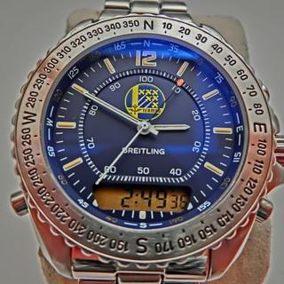ブライトリング(BREITLING)のブライトリング チーム60 1000本限定 A51038 美品 磨き済み(腕時計(デジタル))
