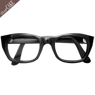 美品!60s ビンテージ フランス 6mm厚 肉厚ウェリントン 眼鏡/374(サングラス/メガネ)