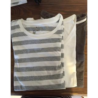 ムジルシリョウヒン(MUJI (無印良品))の無印 Tシャツ3枚セット(Tシャツ(長袖/七分))