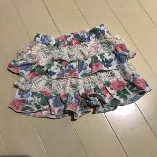 シマムラ(しまむら)の80cm☆花柄パンツ(パンツ)