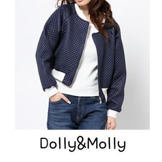 ドリーモリー(Dolly&Molly)の新品タグ付き Dolly&Molly キルティングブルゾン(ブルゾン)
