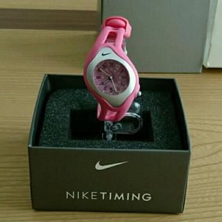 ナイキ(NIKE)のNIKE TIMING☆腕時計★ピンク(腕時計)