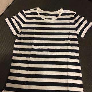 ムジルシリョウヒン(MUJI (無印良品))の無印ボーダーTシャツ⭐(Tシャツ(半袖/袖なし))