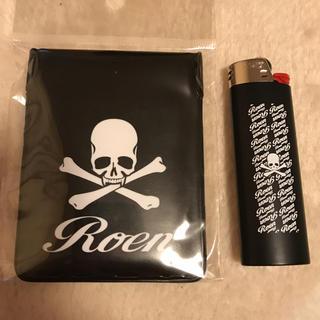 ロエン(Roen)の【値下げ】Roen  新品、未使用BiCライター&携帯灰皿(タバコグッズ)