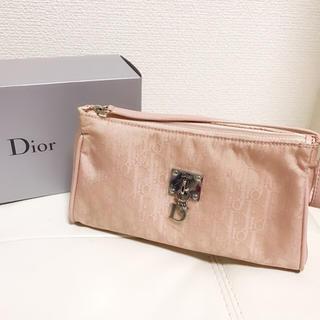 ディオール(Dior)のDior ディオール ポーチ ピンク 新品(その他)