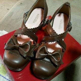 ボディライン(BODYLINE)のボディーライン ロリータ靴 25・0cm今日だけ安く(ハイヒール/パンプス)