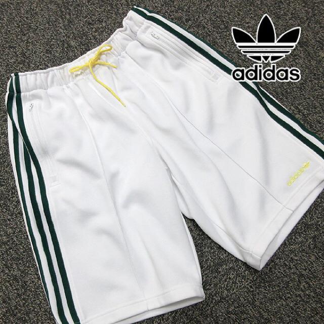 adidas(アディダス)の美品!! アディダス 90's ヴィンテージ トレーニング ハーフパンツV75 レディースのパンツ(ハーフパンツ)の商品写真