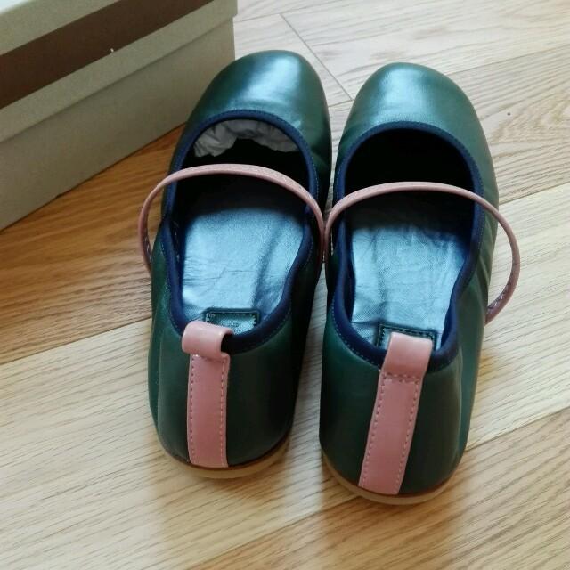 Marni(マルニ)の最終値下げ MARNI バレエシューズ kidsの大人size  レディースの靴/シューズ(バレエシューズ)の商品写真