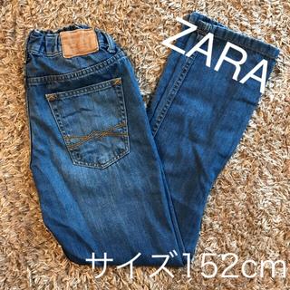 ザラキッズ(ZARA KIDS)のお値下げ【使用品】zara kidsデニムパンツ(デニム/ジーンズ)