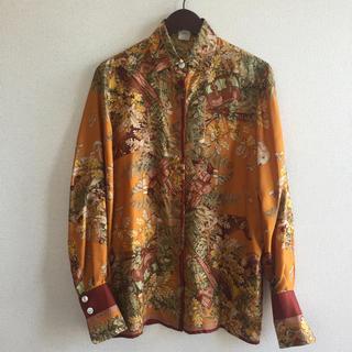 ロエベ(LOEWE)のロエベ LOEWE シルク100パーセントのシャツ(シャツ/ブラウス(長袖/七分))