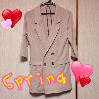 アンレリッシュ(UNRELISH)の春色ジャケット♡値下げ中♡(テーラードジャケット)