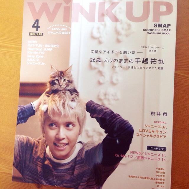 HKT48(エイチケーティーフォーティーエイト)のWiNK UP 2014年4月号 エンタメ/ホビーのタレントグッズ(アイドルグッズ)の商品写真
