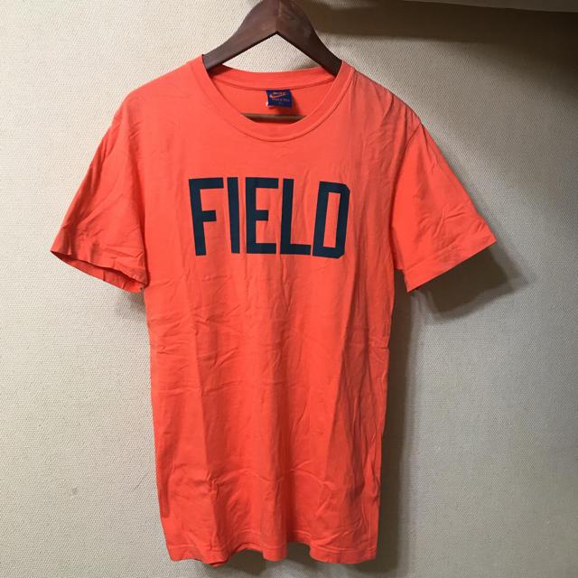 NIKE(ナイキ)のレア 紺タグ オレンジロゴ NIKE TRACK&FIELD メンズのトップス(Tシャツ/カットソー(半袖/袖なし))の商品写真