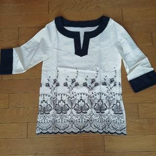 エフデ(ef-de)のお値下げしました!◆美品◆エフデ 刺繍シャツ チュニック(チュニック)