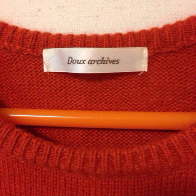 Doux archives(ドゥアルシーヴ)のdoux archives #ニット レディースのトップス(ニット/セーター)の商品写真