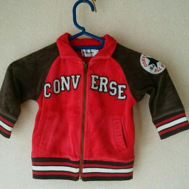 CONVERSE(コンバース)のconverse ベビーパーカー 80 キッズ/ベビー/マタニティのベビー服(~85cm)(ジャケット/コート)の商品写真