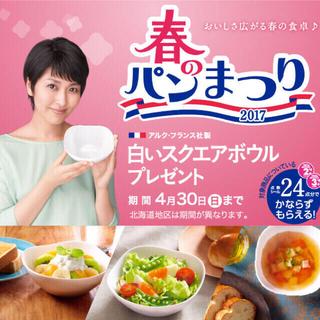 ヤマザキセイパン(山崎製パン)の27.5点 春のパン祭り(食器)