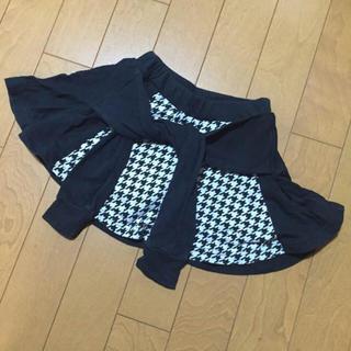 ジディー(ZIDDY)のZIDDY パンツ付きスカート(スカート)