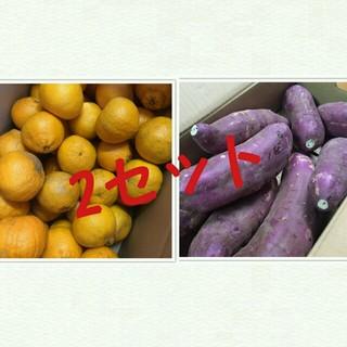 熊本県産☆訳ありデコポン5キロ&紅はるか5キロセット(野菜)