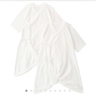 ムジルシリョウヒン(MUJI (無印良品))の無印 コンビ肌着 2枚組(肌着/下着)