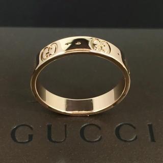 グッチ(Gucci)の新品仕上 グッチ GUCCI アイコンリング 指輪 ゴールド 14号 K18YG(リング(指輪))