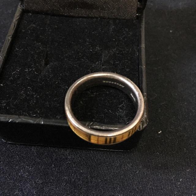 バーバリー BURBERRYリング 17.5号 ケース付き レディースのアクセサリー(リング(指輪))の商品写真