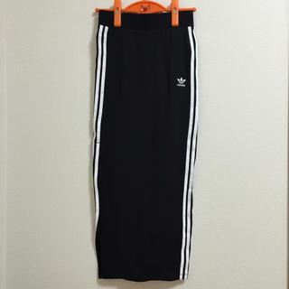 アディダス(adidas)のロングタイトスカート(ロングスカート)