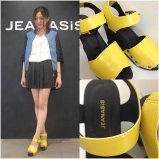 ジーナシス(JEANASIS)の新品ジーナシス♡アンクルベルトサンダル♡(サンダル)